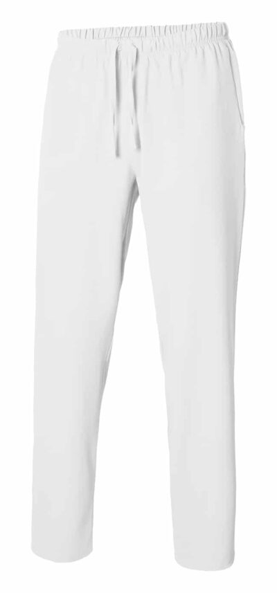 533007 PantalÓn Pijama Microfibra Con Cintas Blanco