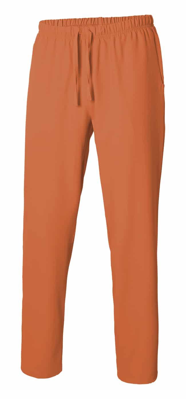 533007 PantalÓn Pijama Microfibra Con Cintas Mandarina