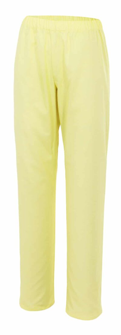Velilla 333 PantalÓn Pijama Amarillo Claro