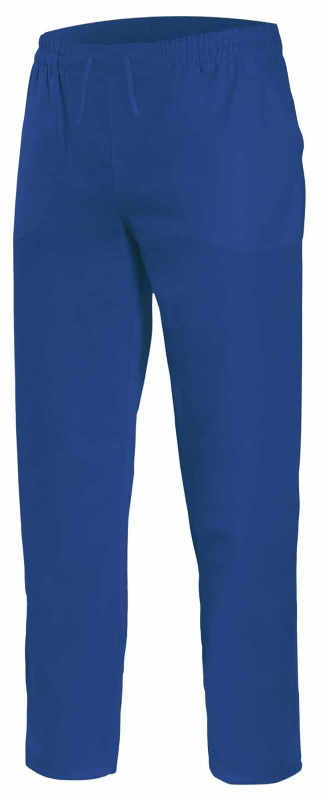 Velilla 533001 PantalÓn Pijama Con Cintas Azul Ultramar