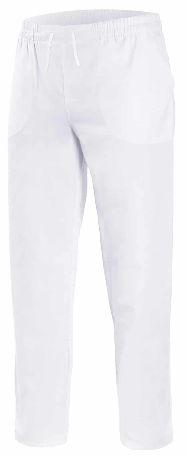 Velilla 533001 PantalÓn Pijama Con Cintas Blanco