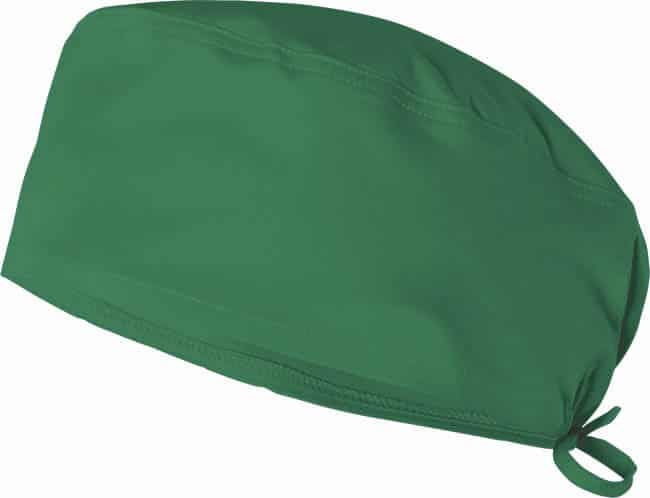 Velilla 534006s Gorro Sanitario Stretch Verde