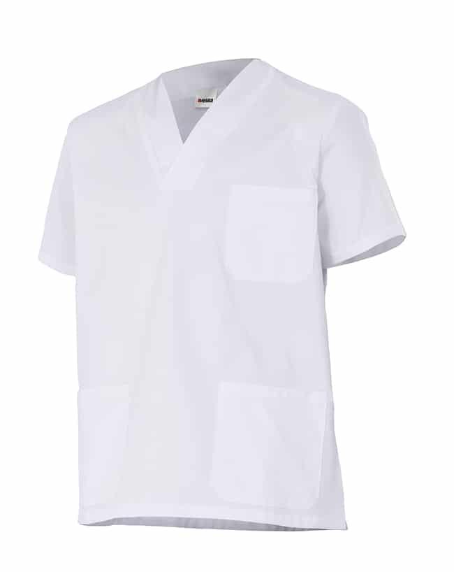 Velilla 535205 Camisola Pijama 100% AlgodÓn Manga Corta Blanco