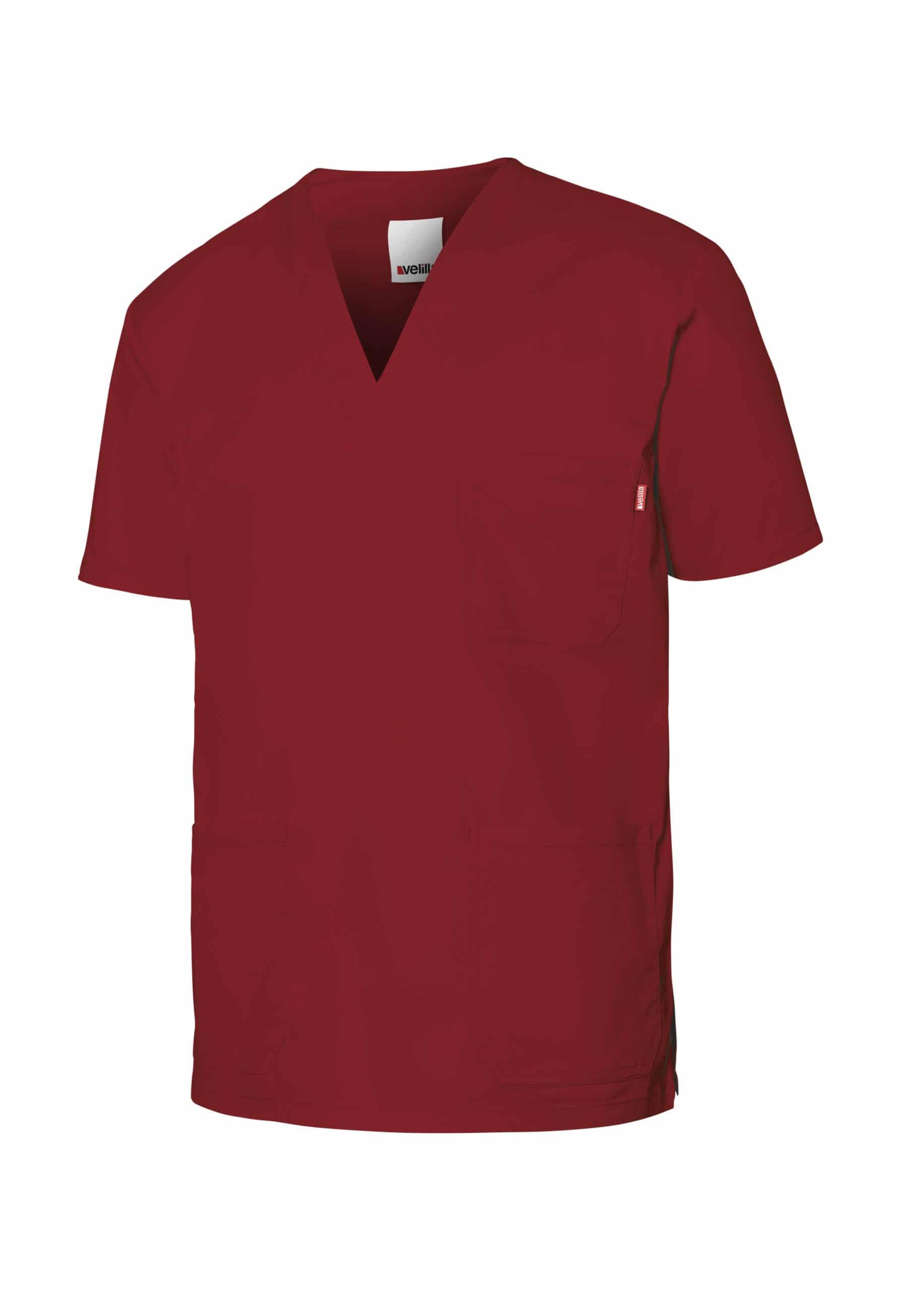 Velilla 535206s Camisola Pijama Stretch Manga Corta Rojo