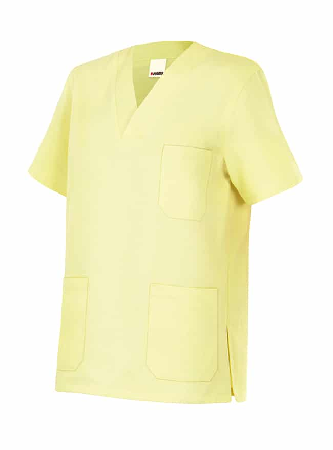 Velilla 589 Camisola Pijama Manga Corta Amarillo Claro