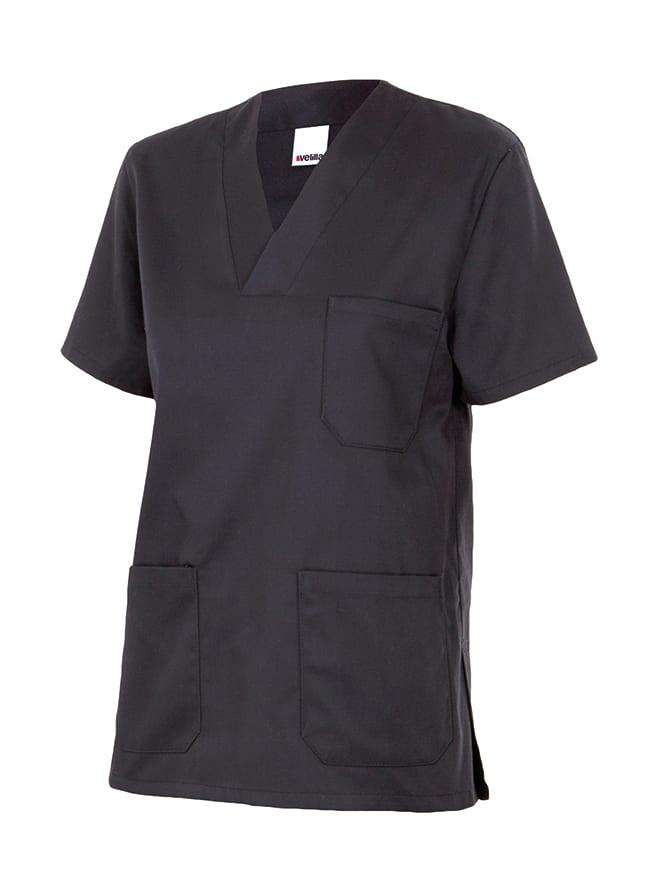Velilla 589 Camisola Pijama Manga Corta Negro