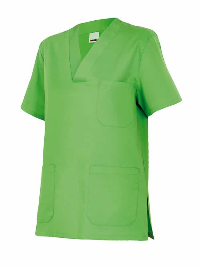 Velilla 589 Camisola Pijama Manga Corta Verde Lima