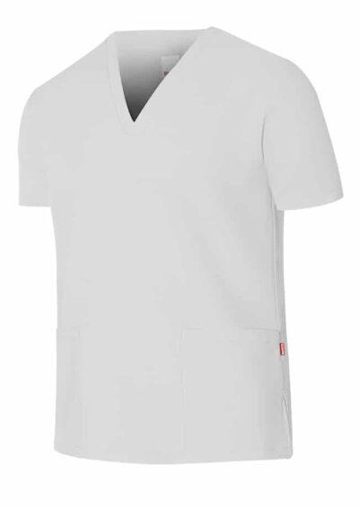 Velilla Camisola Pijama Microfibra Manga Corta Blanco