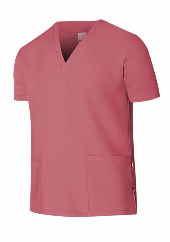 Velilla Camisola Pijama Microfibra Manga Corta Rosa Fresa