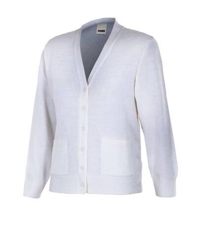 Velilla 103 Chaqueta Punto Fino Mujer Blanco