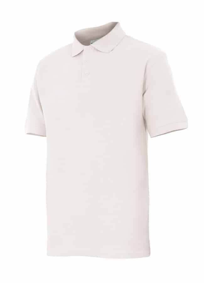 Velilla 105502 Polo Manga Corta Blanco
