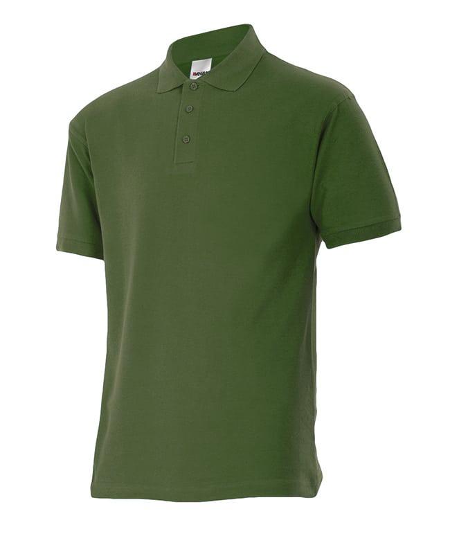 Velilla 105502 Polo Manga Corta Verde Caza