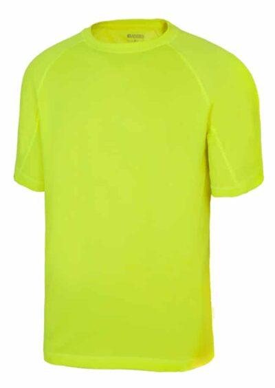 Velilla 105506 Camiseta TÉcnica Amarillo FlÚor