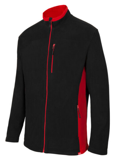 Velilla 201504 Chaqueta Polar Bicolor Negro Rojo