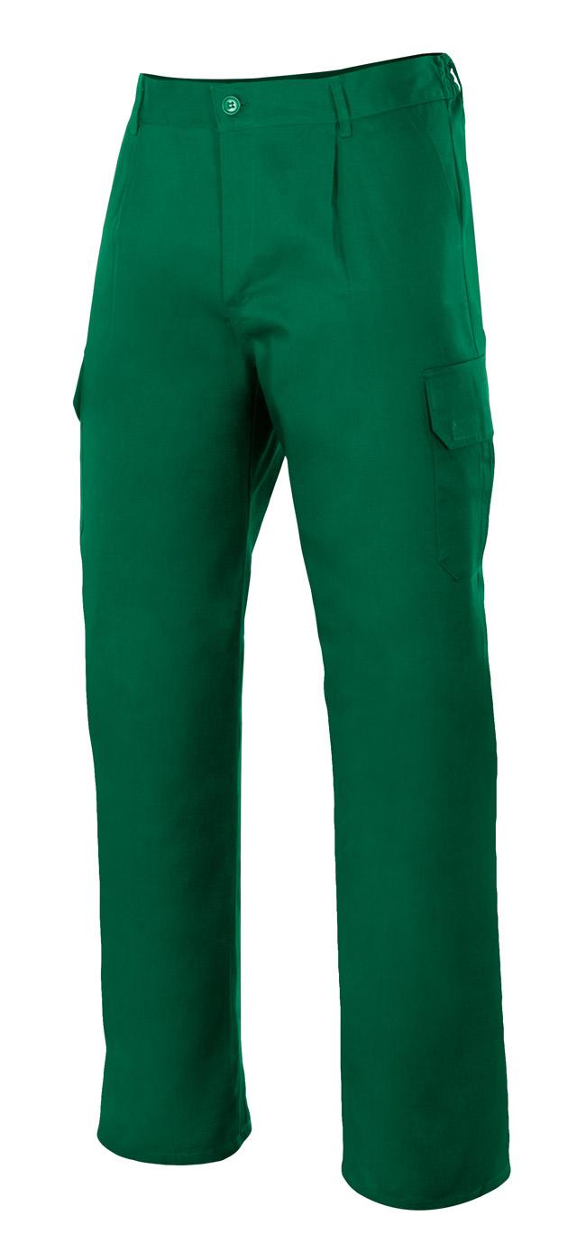 Velilla 345 PantalÓn Multibolsillos Verde