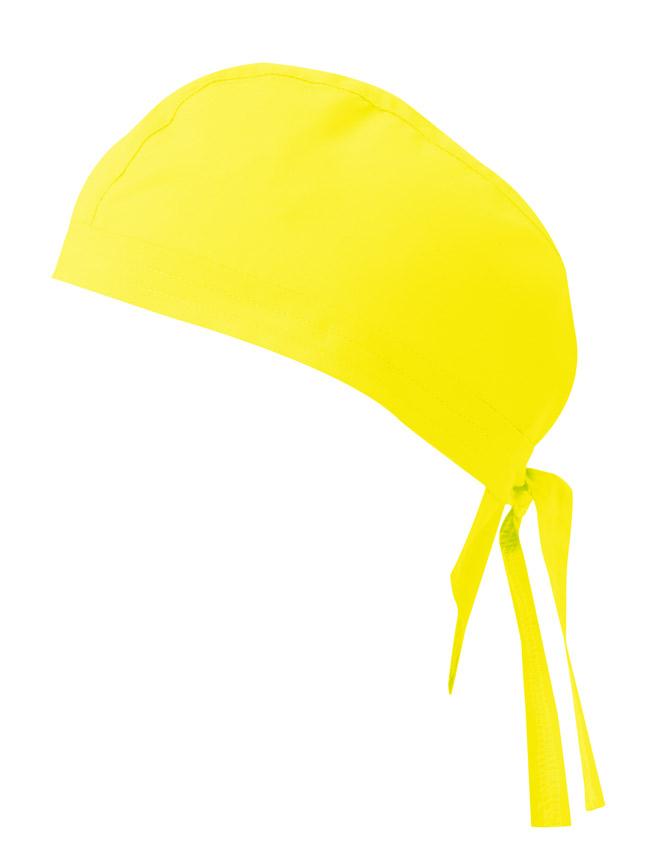 Velilla 404002 Gorro Con Tiras Amarillo Fluor