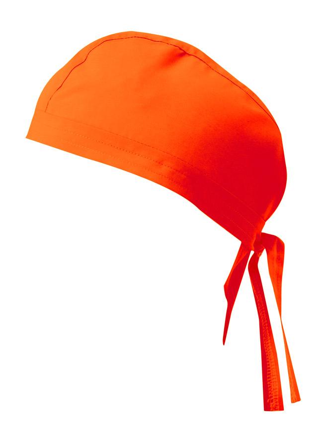 Velilla 404002 Gorro Con Tiras Naranja FlÚor