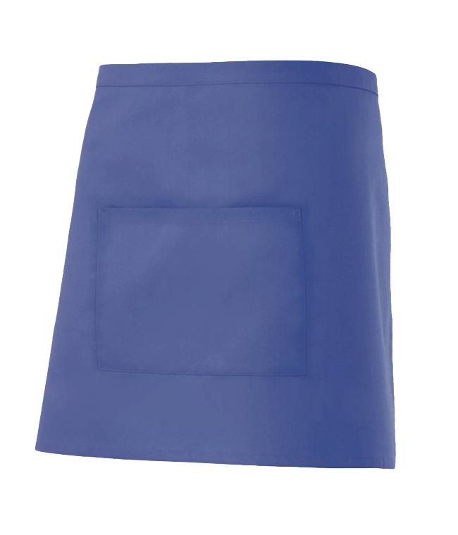 Velilla 404201 Delantal Corto Con Bolsillo Azul Ultramar