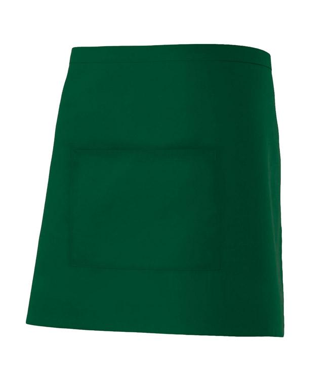 Velilla 404201 Delantal Corto Con Bolsillo Verde Bosque