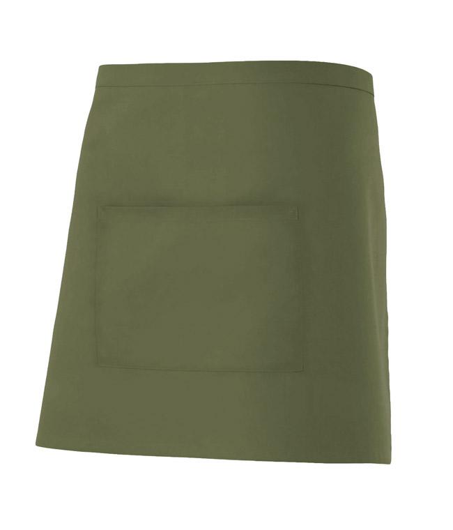 Velilla 404201 Delantal Corto Con Bolsillo Verde Caza