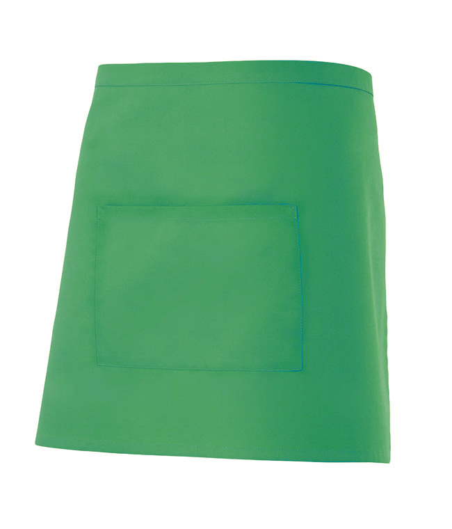 Velilla 404201 Delantal Corto Con Bolsillo Verde