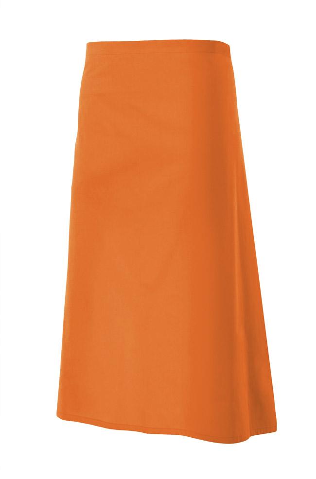 Velilla 404202 Delantal Largo Naranja