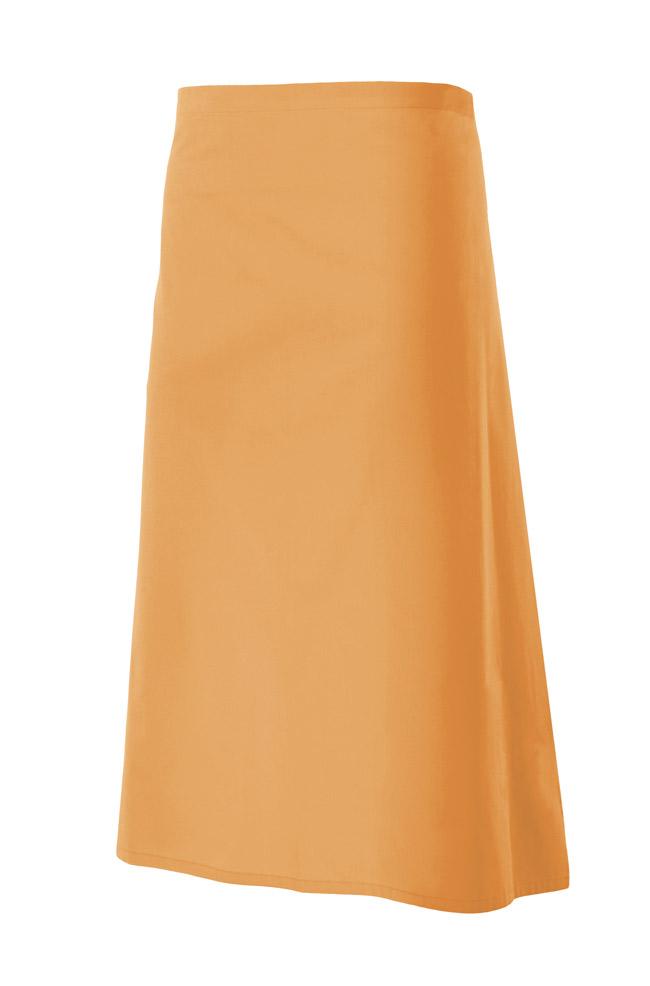 Velilla 404202 Delantal Largo Naranja Claro