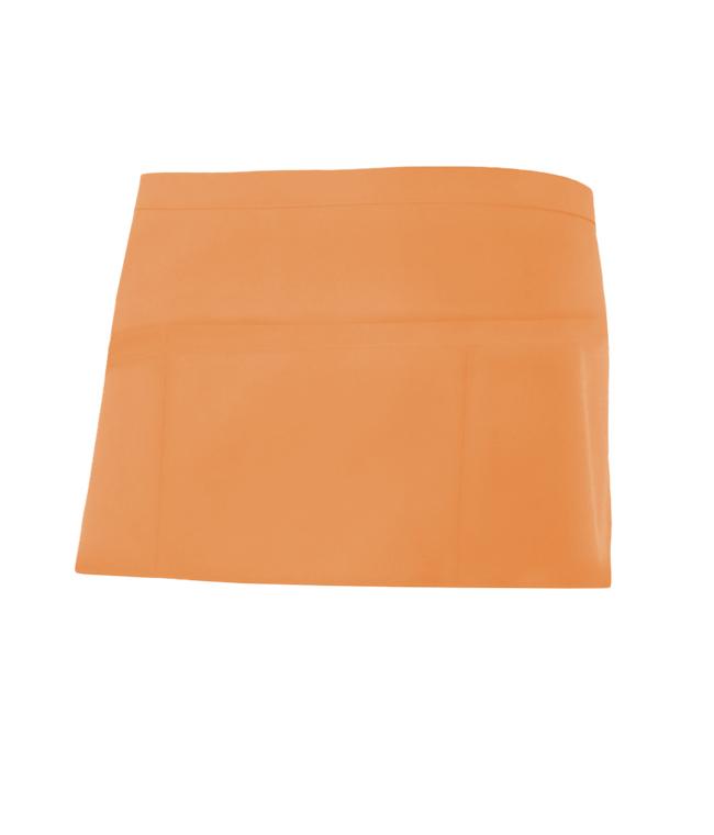 Velilla 404208 Delantal Corto Comandero Naranja Claro