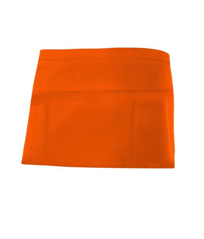 Velilla 404208 Delantal Corto Comandero Naranja FlÚor