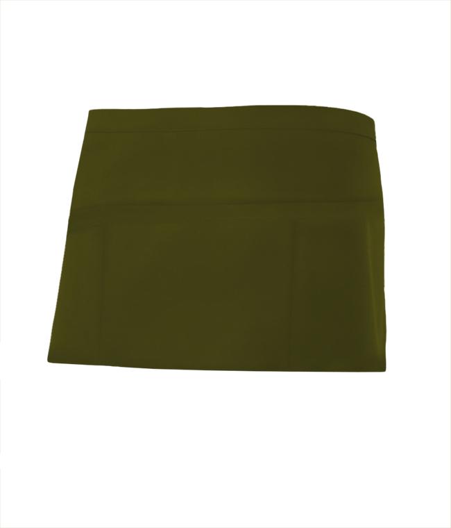 Velilla 404208 Delantal Corto Comandero Verde Caza