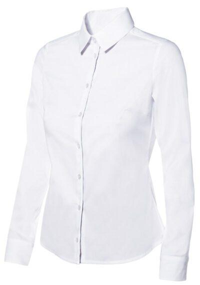 Velilla 405002 Camisa Stretch Mujer Blanco
