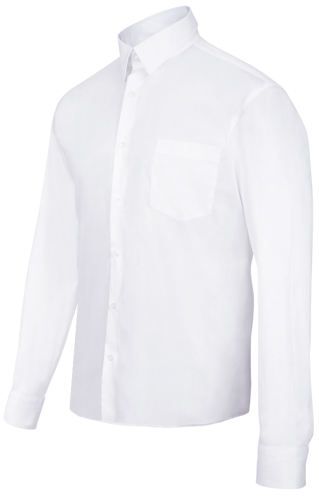 Velilla 405003 Camisa Stretch Hombre Blanco