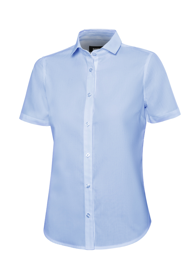Velilla 405010 Camisa Manga Corta Mujer Celeste