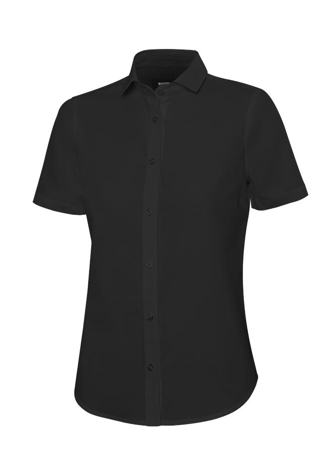 Velilla 405010 Camisa Manga Corta Mujer Negro