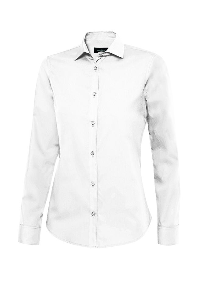 Velilla 405011 Camisa Manga Larga Mujer Blanco