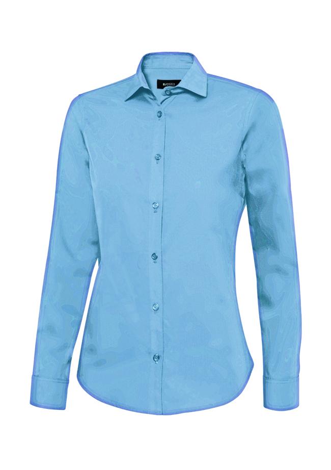 Velilla 405011 Camisa Manga Larga Mujer Celeste