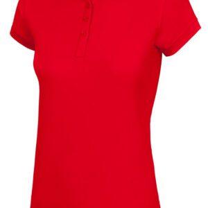 Velilla 405503 Polo Sala Mujer Rojo Vivo