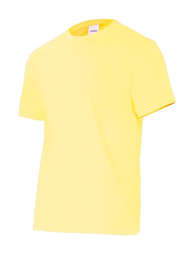 Velilla 5010 Camiseta Manga Corta Amarillo Claro
