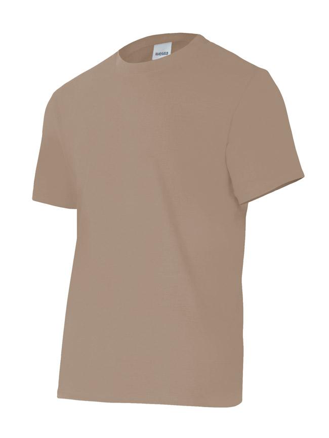 Velilla 5010 Camiseta Manga Corta Beige