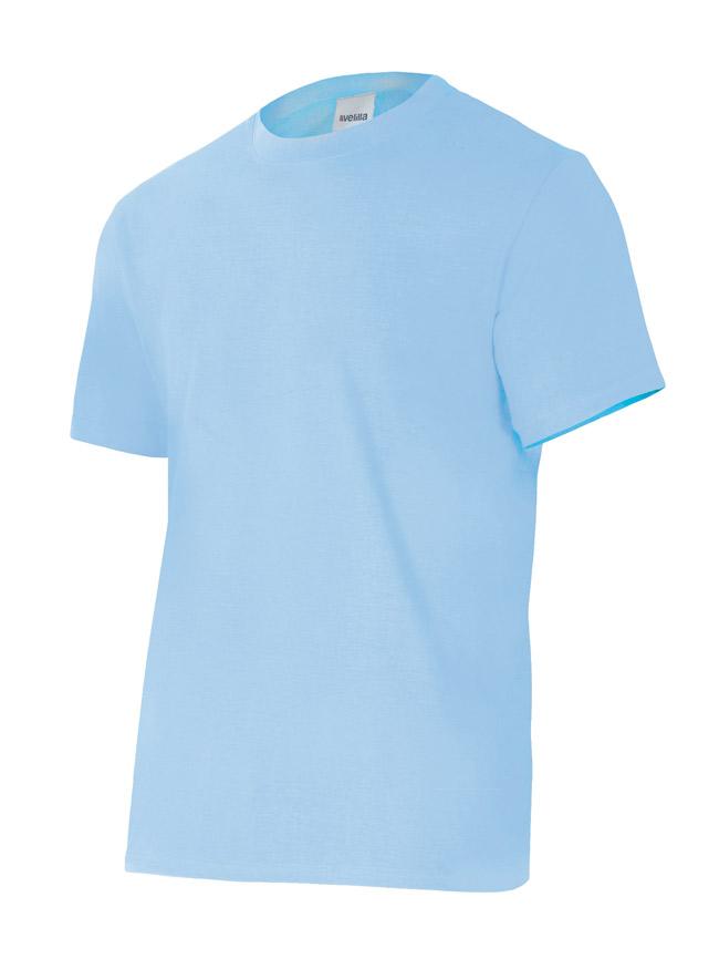 Velilla 5010 Camiseta Manga Corta Celeste