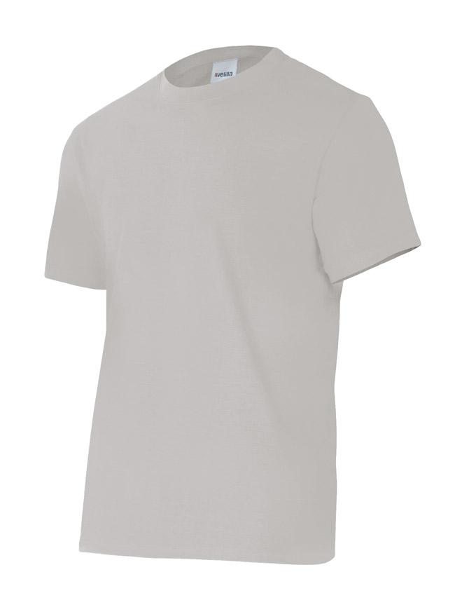 Velilla 5010 Camiseta Manga Corta Gris Perla