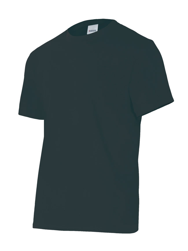 Velilla 5010 Camiseta Manga Corta Negro