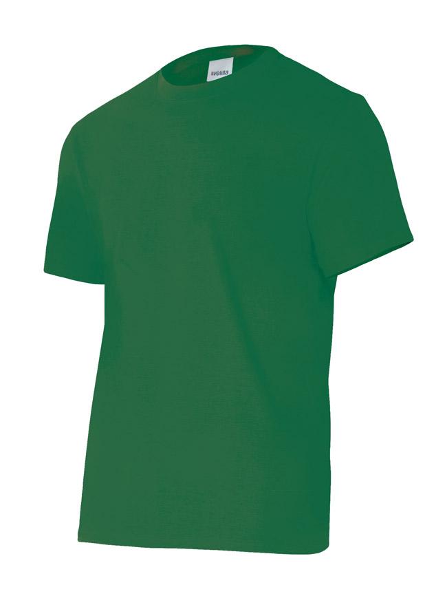 Velilla 5010 Camiseta Manga Corta Verde Bosque