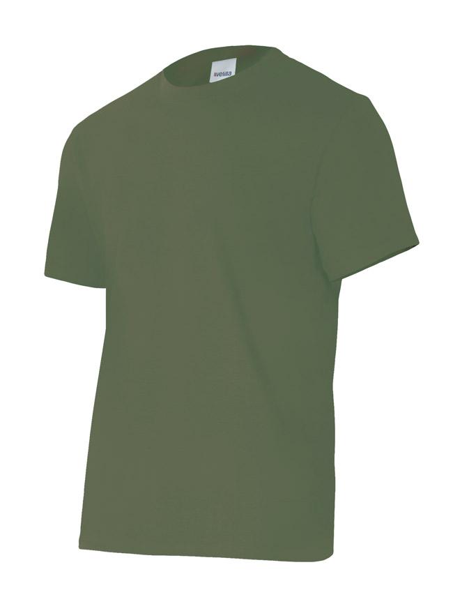 Velilla 5010 Camiseta Manga Corta Verde Caza