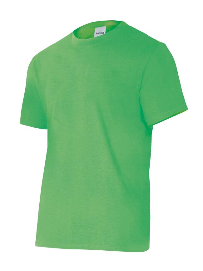 Velilla 5010 Camiseta Manga Corta Verde Lima