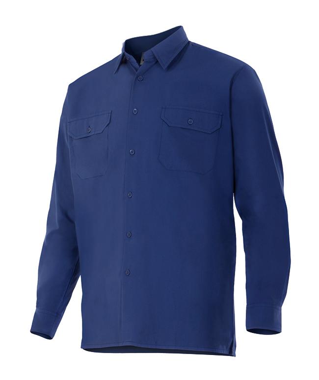 Velilla 520 Camisa Manga Larga Azul Marino