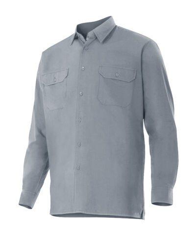 Velilla 520 Camisa Manga Larga Gris