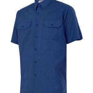 Velilla 522 Camisa Manga Corta Azul Marino