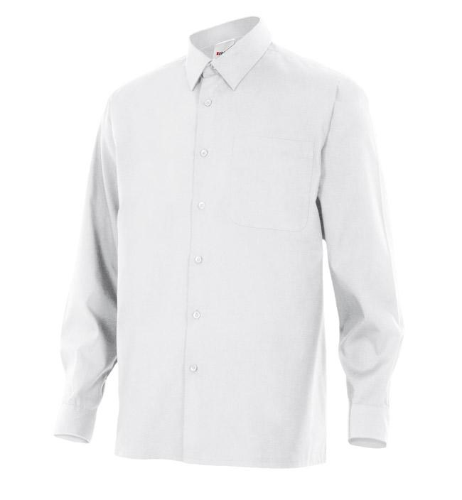 Velilla 529 Camisa Manga Larga Blanco