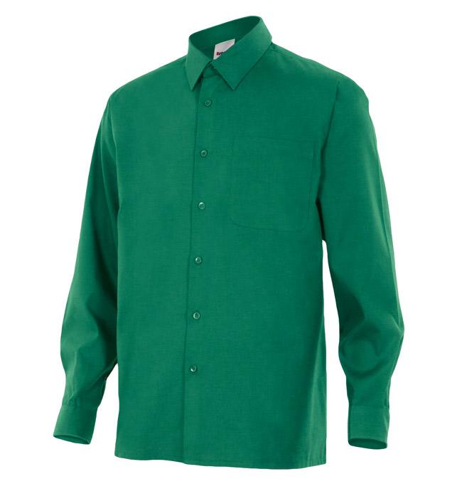 Velilla 529 Camisa Manga Larga Verde